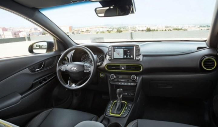 Interior Hyundai Kona - Meluncur di Indonesia April 2019