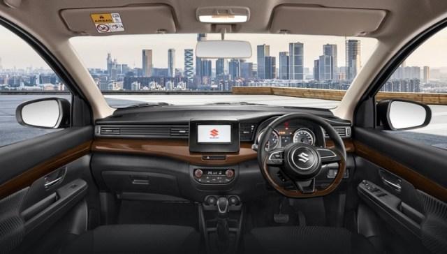 Interior Suzuki Ertiga Sport 2019