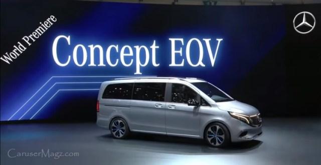 Mercedes Benz EQV Concept - Geneva Motor Show 2019