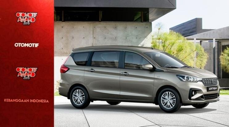 Mobil Terbaik Otomotif Award 2019 - Ertiga Raih Car of the Year 2019
