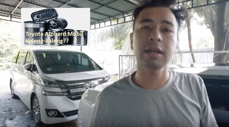Raffi Ahmad sebut Toyota Alphard Mobil Kaleng