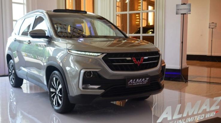 Wuling Almaz ungguli Honda CR-V