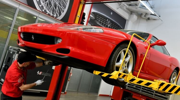 Ferrari Premium Service for Loyal Customers