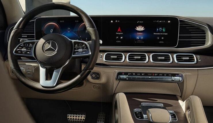Mercedes-Benz GLS 2020 - Interior