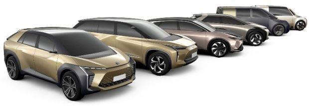Mobil Konsep Listrik Toyota 2020 dari berbagai segmen