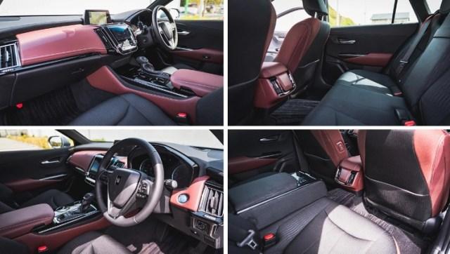 Toyota Crown 2.5 HV G-Executive - Interior Kabin Mobil Menteri