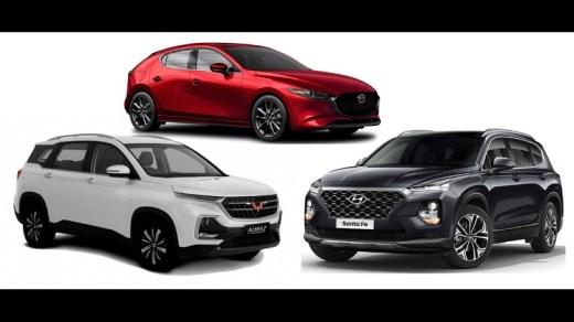 Mobil Terbaik 2019 Indonesia - Mazda3 - Hyundai Santa Fe - Wuling Almaz