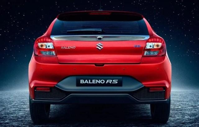 Suzuki Baleno Hatchback Facelift 2020 - Tampak Belakang