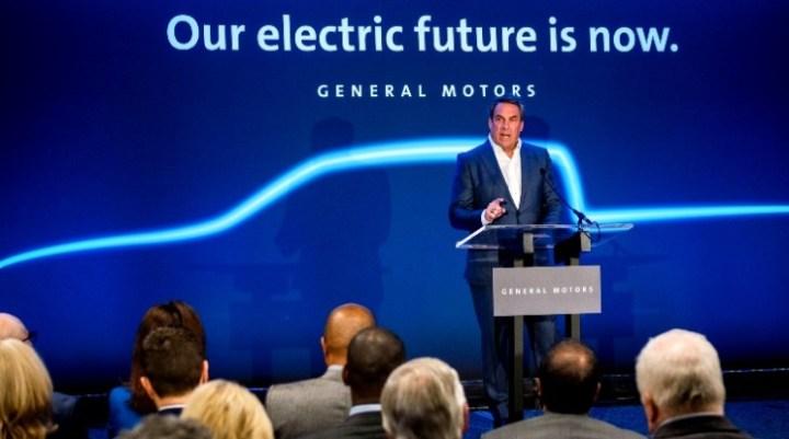 General Motors umumkan Teaser Pick up Listrik Pertama