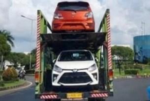 Tampang Toyota Agya Facelift 2020