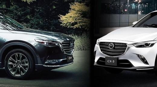 Mazda CX-9 dan CX-3 Facelift 2020 Diluncurkan Online