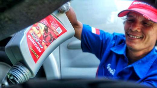 Stayathome Pertamina Lubricants Home Services