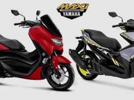 Daftar harga Motor Skutik Besar Yamaha - NMax, Aerox, Lexi, XMax, TMax