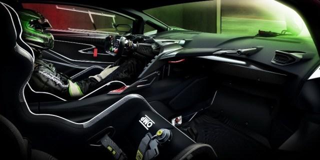 Driver Seat Position on Lamborghini Essenza SCV12