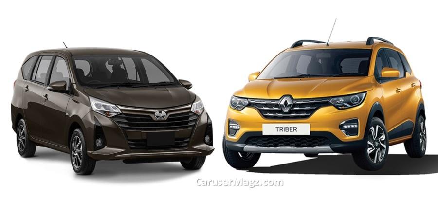 Renault Triber vs Calya dan Sigra - Perbandingan Lengkap