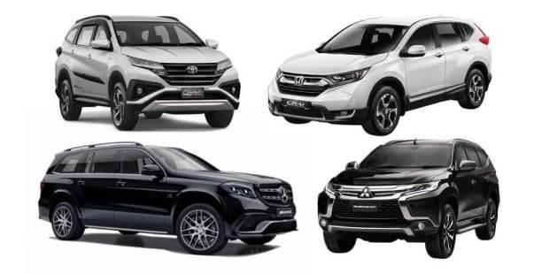 SUV 7-Seater Indonesia di Semua Segmen - dari Mobil Rakyat hingga Juragan Crazy Rich