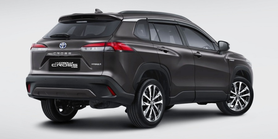 Target konsumen Corolla Cross - Eksterior Rear