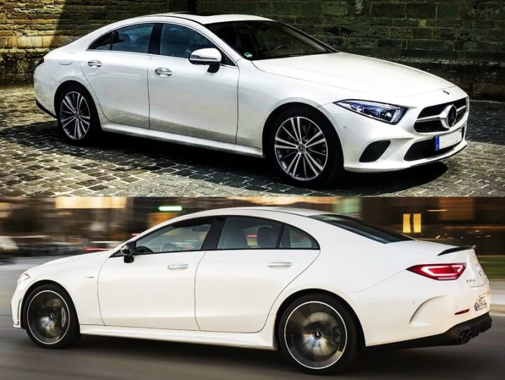 Mercedes Benz CLS 350 Coupe AMG Line