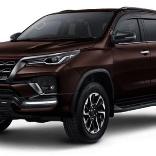Fortuner 2020 Facelift Coklat Gelap - Phantom Brown Metalic
