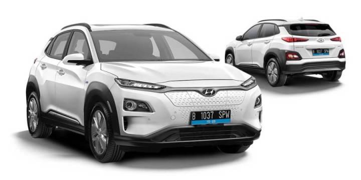 Hyundai Kona Electric - Tampak Depan dan Belakang