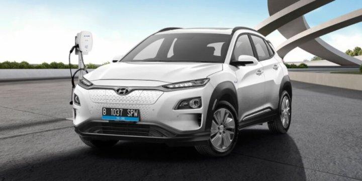 Hyundai Kona Electric - suv listrik pertama indonesia