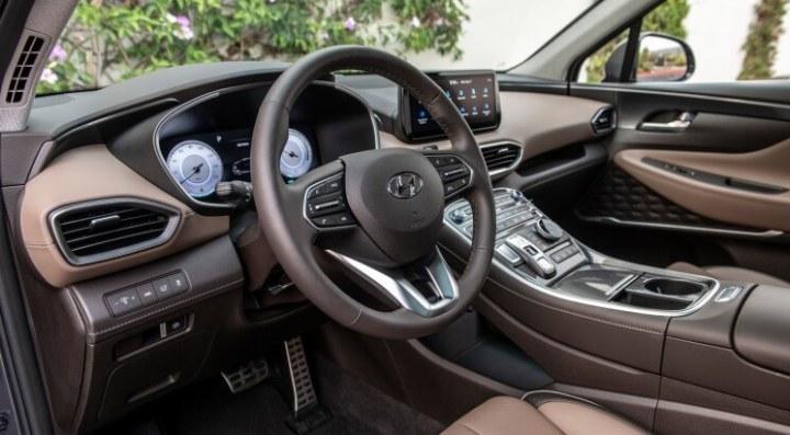 Hyundai Santa Fe 2021 Facelift - Interior