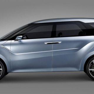Mobil Konsep Low MPV Hyundai - Diperkirakan Bernama Staria