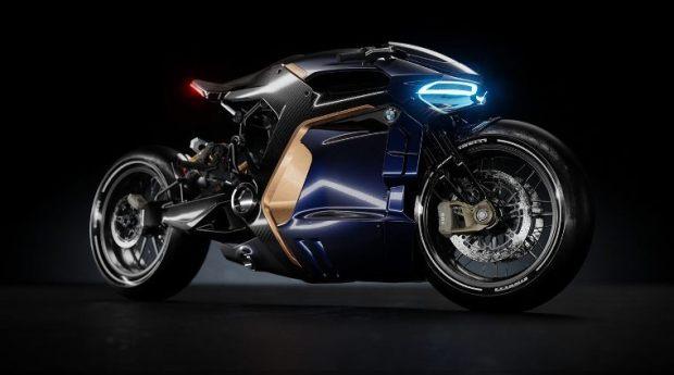 BMW Concept Motorcycle by Sabino Leerentveld