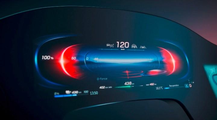 Hyperscreen Mercedes Benz AI-Powered MBUX