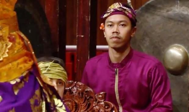 Irmandy Wicaksono saat berpartisipasi memperkenal budaya Indonesia di Luar Negeri