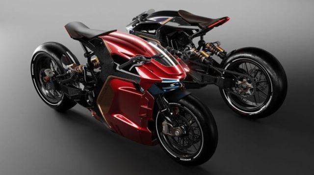 Konsep motor ekstrim untuk BMW oleh desainer