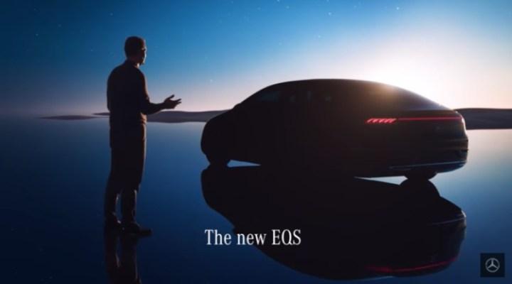 Mercedes-Benz EQS - Mobil Pertama Menggunakan MBUX Hyperscreen