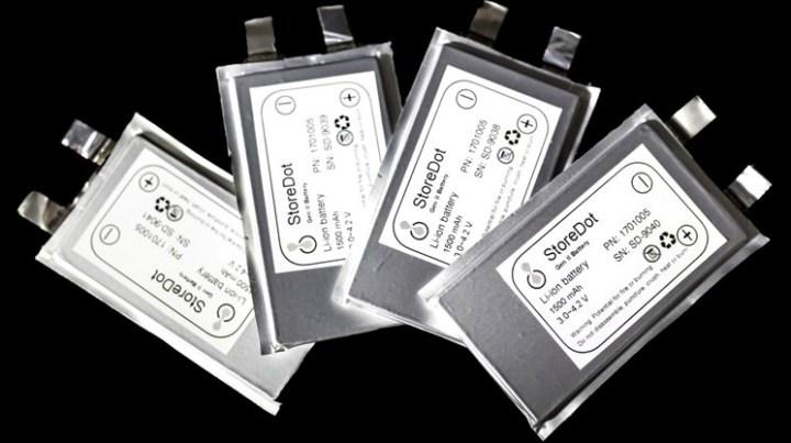 StoreDot - Fast Charging Li-ion Battery