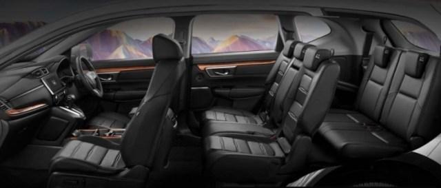 Interior CR-V Facelift 2021 - Kabin Keseluruhan