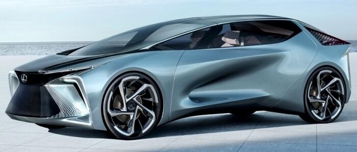 Lexus LF-30 Konsep Prototipe EV dengan Teknologi Direct4
