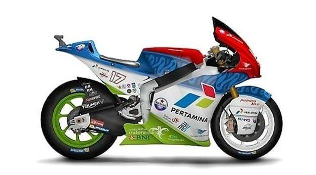 Mandalika SAG Racing Team - Motor Balap Moto2
