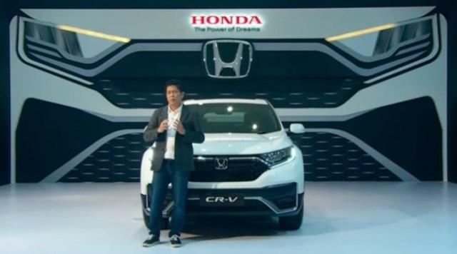 Peluncuran Honda CR-V 2021 Facelift Indonesia