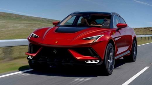 Ferrari Purosangue - Unofficial Teaser Front