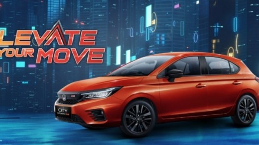 Honda Luncurkan City Hatchback RS 2021