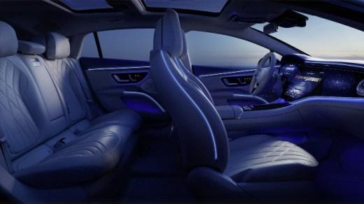 Kabin Mobil Listrik Termewah dari Mercedes-Benz
