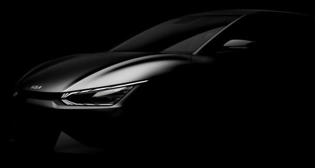 Teaser Resmi EV Kia - ES6 - Front Look