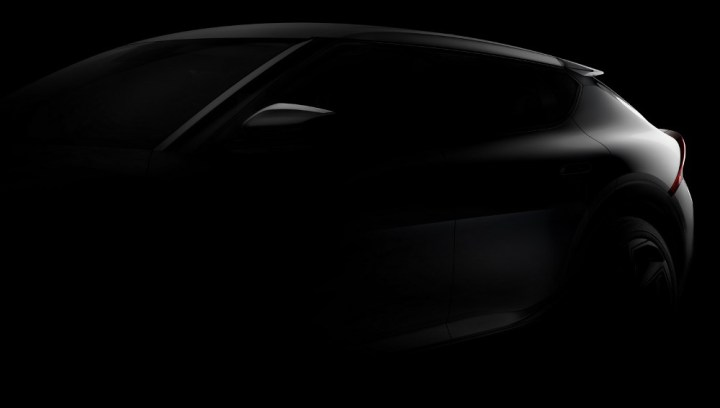 Teaser EV6 Kia - Rear end