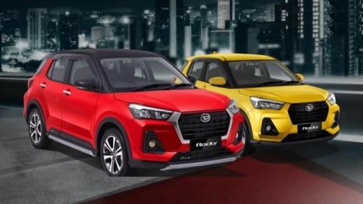 Pilihan Warna Daihatsu Rocky 2021