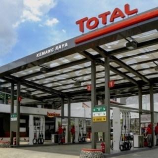SPBU Total di Kemang, Jakarta