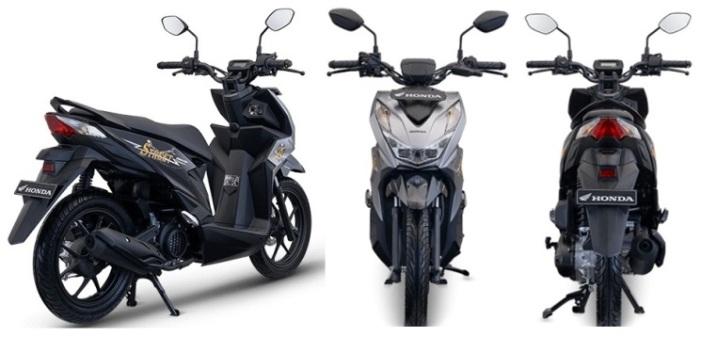 Honda Beat Street 2021 - Tampak Depan Belakang
