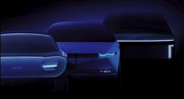 Line-up Hyundai Ioniq 5, 6, 7