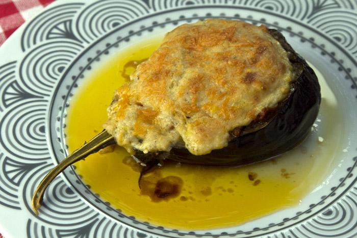 μελιτζάνες παπουτσάκια ελαφρια χωρίς τηγάνισμα
