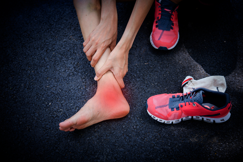 ankle posterior tibial tendonitis