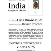 """TORINOMAGODO - Tour piemontese di presentazioni/reading/concerti di """"India"""" e """"Franti"""""""