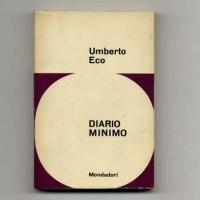"""Umberto Eco - Elogio di Franti (da """"Diario Minimo"""")"""